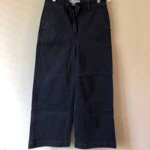 Everlane navy trousers